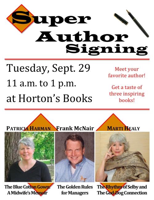 Super Author Signing at Horton's Books